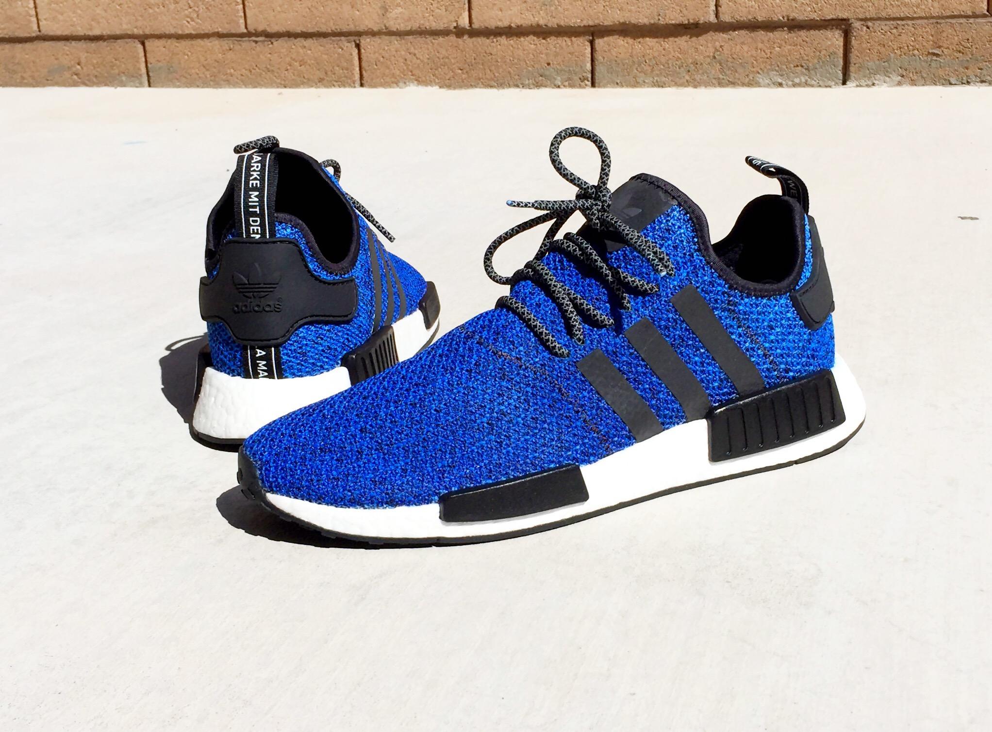 Custom Adidas NMD Royal Blue Champs