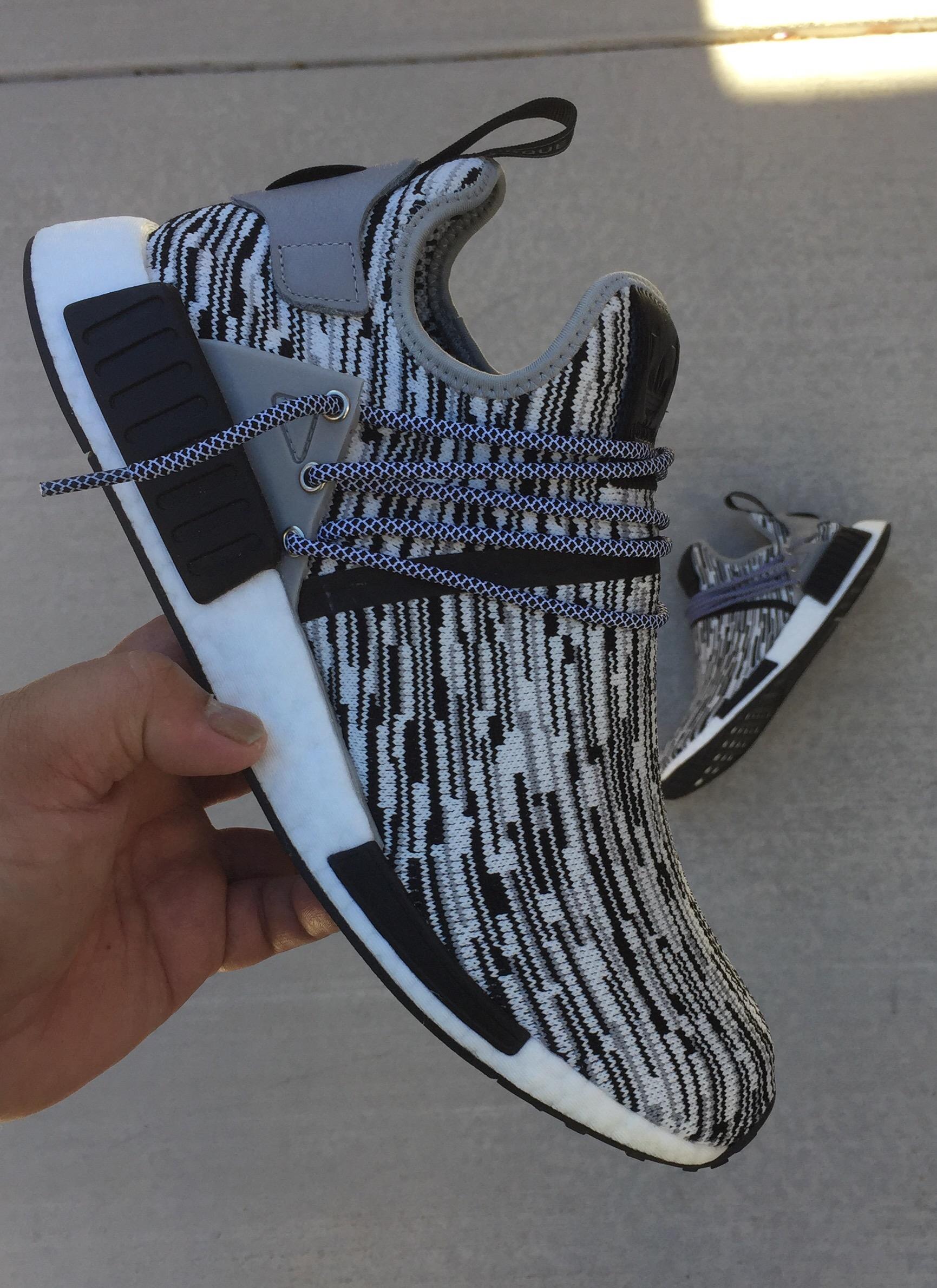 wholesale dealer be571 50cee Custom Adidas NMD XR1 Oreo Uncaged #noairneeded – iamdblr